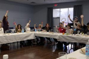 Women's Seder 2019 #1